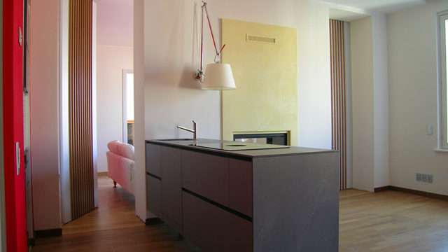 Apartment extension and renovation, Milano